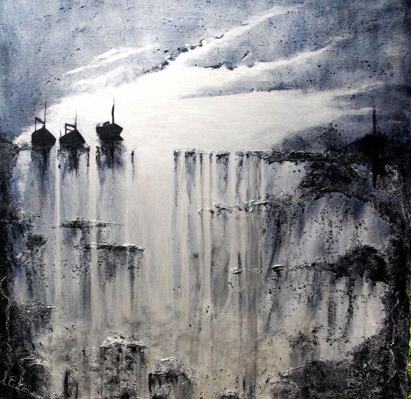 Last Light  acrylic on canvas