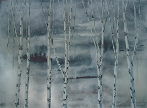 Early One Morning  120 x 90 cms acrylic on canvas