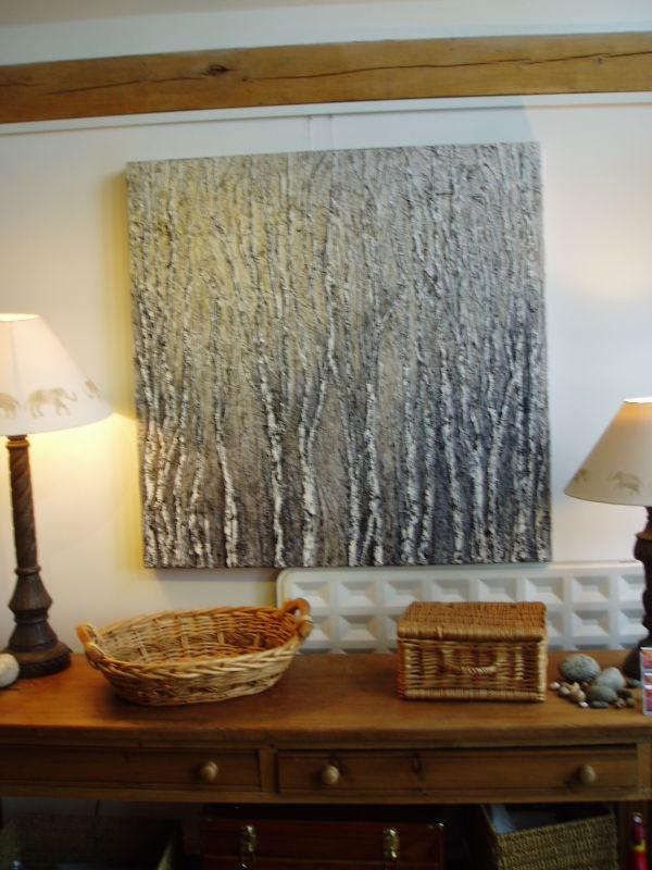 Birches in situ