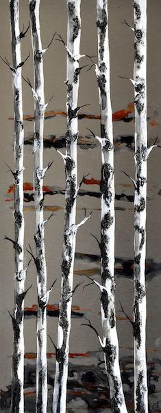 Poles Apart  30 x 76 cms