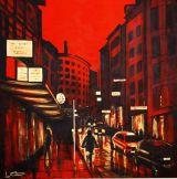 Red Light  acrylic on canvas  100/100cm