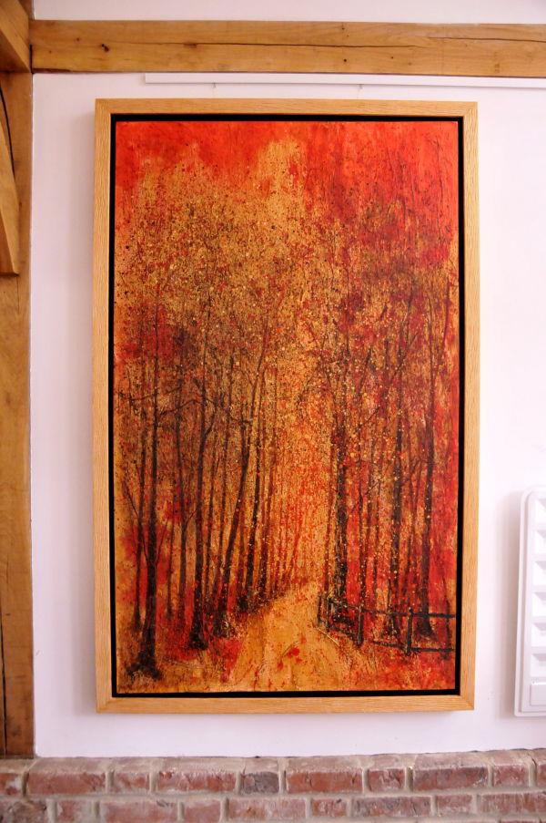 Canvas in situ