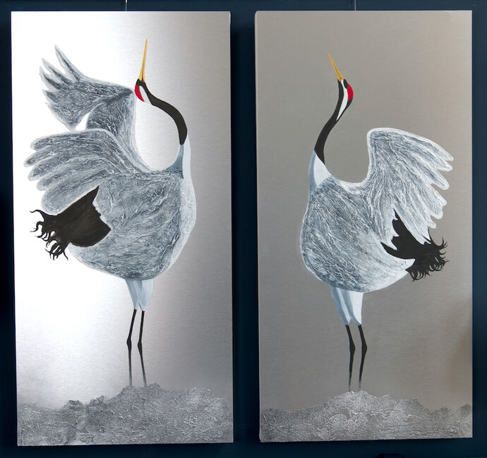 Courting Cranes £590