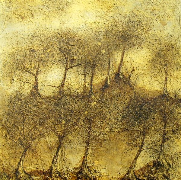 Golden Grove  acrylic on canvas