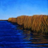 Reed Beds  pastel on paper