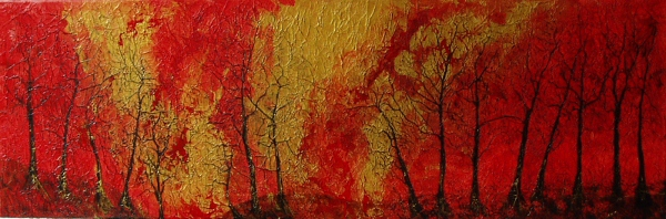Autumnal Afternoon series  Acrylic on canvas