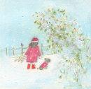 Snowy Christmas eve