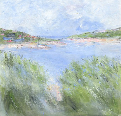 Spring day by the estuary