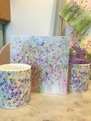 Polkadot flowers mug