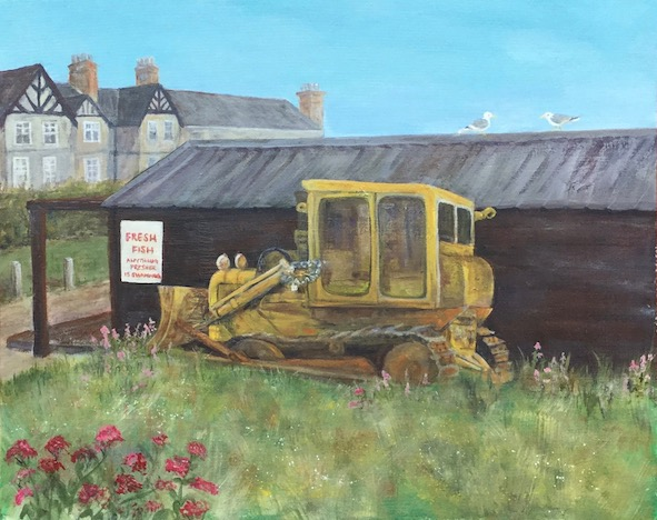 Fishermens tractor (Aldeburgh)