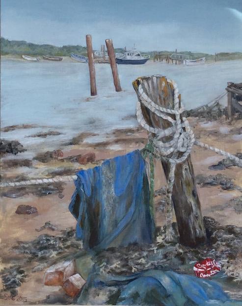 Low tide on the River Blythe (Southwold)