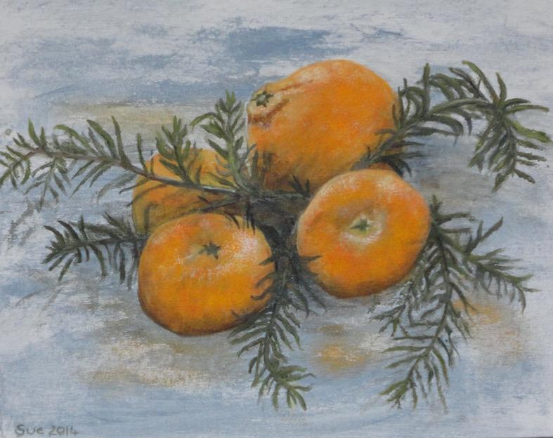 Orange and satsumas