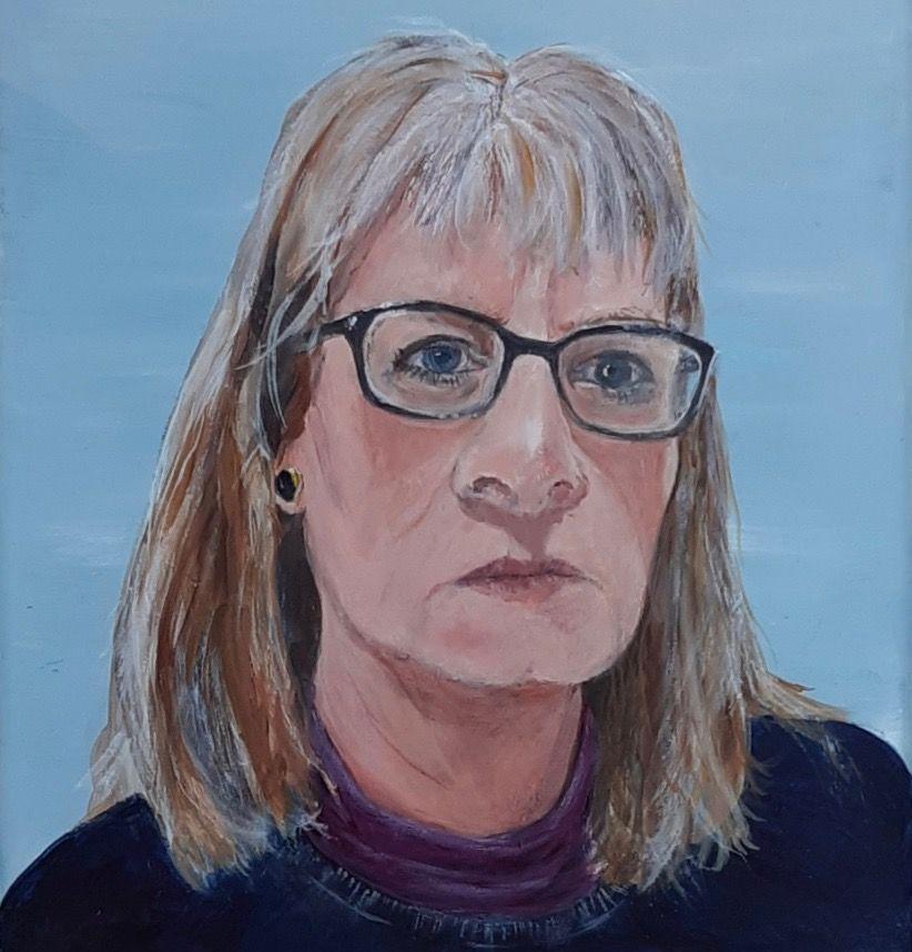 Self-portrait – 2020