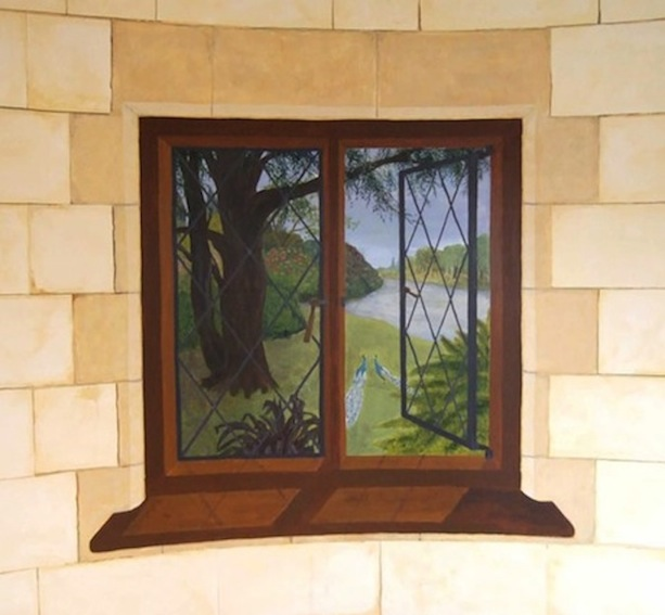 The Folly – Left hand window