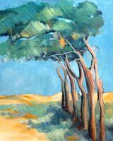 Windswept Trees
