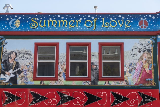 Summer of Love, Haight Ashbury, San Francisco