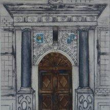 Ham House Front Door
