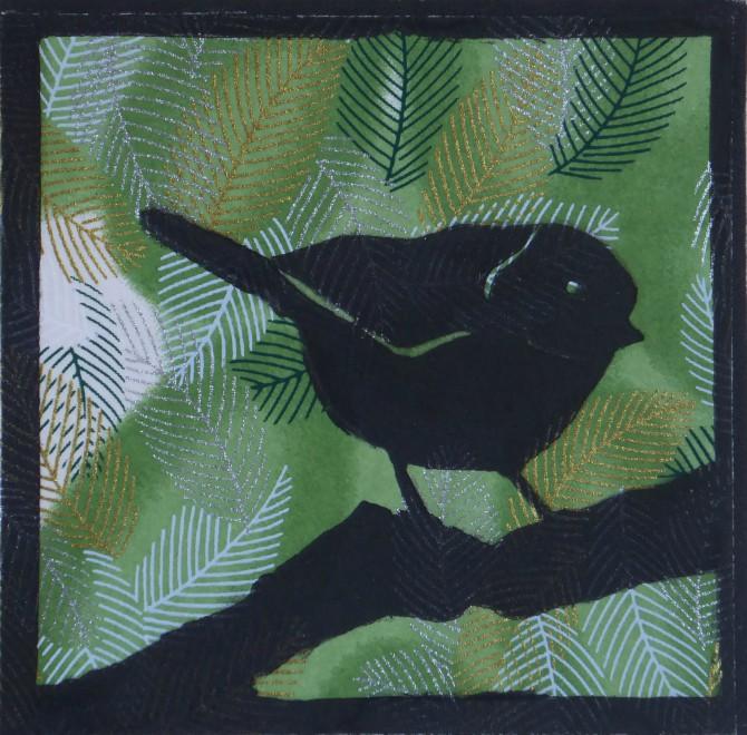 Japanese  Bird II