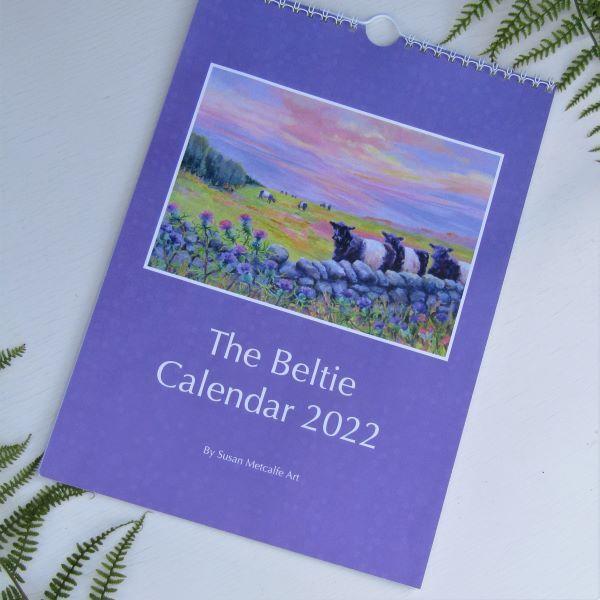 Beltie Calendar 2022