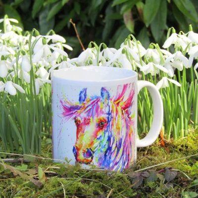horse mug & coaster set nickie