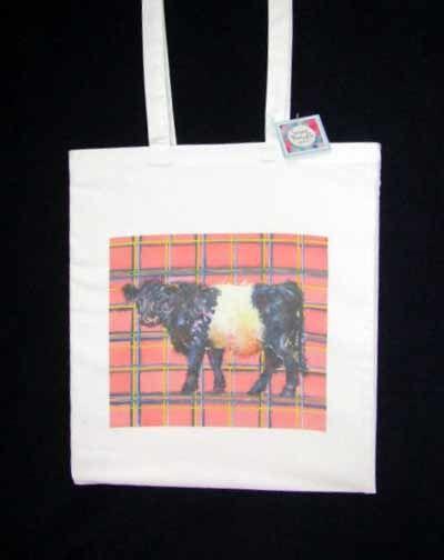 Shopping Bag featuring Tartan Lass