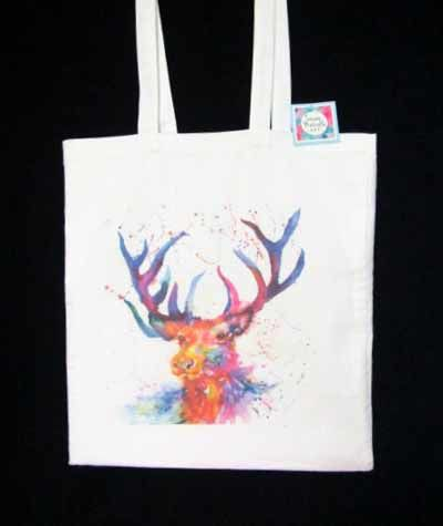 Shopping Bag featuring The Stag Sold out