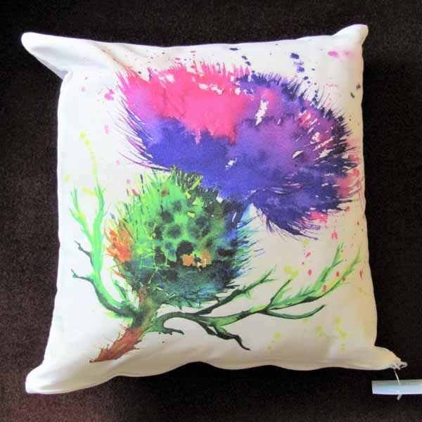 Thistle Cushion