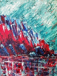 Shelter - from an Original Painting - Acrylic on Canvas