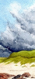 Edges of morning - From an Original Watercolour Painting