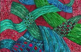 Woven - from an OriginalPainting - Watercolour