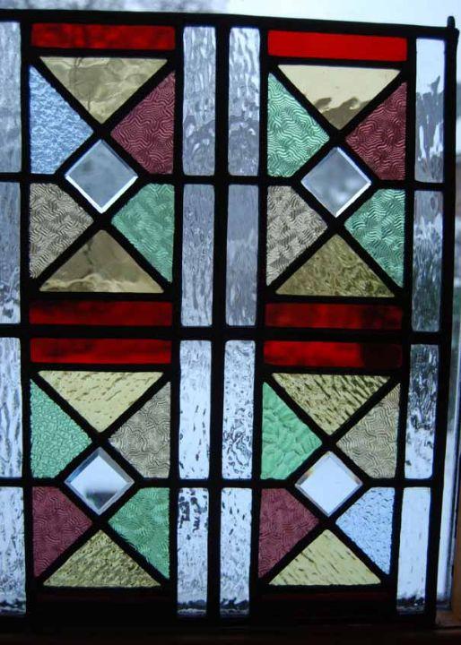 A light shade made into a panel