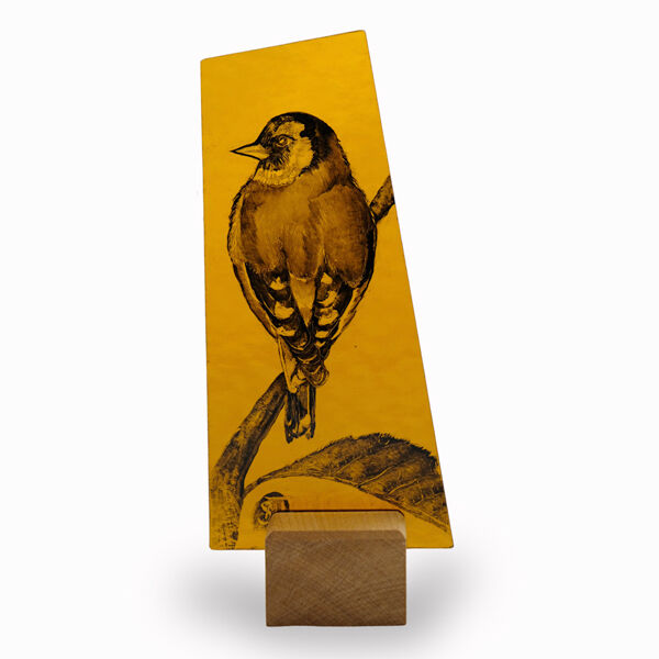 Goldfinch. Approx 100mmx 220mm £50