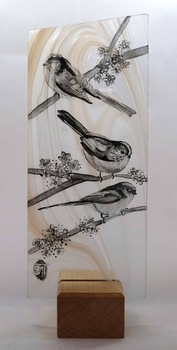 Long Tailed Tits SOLD