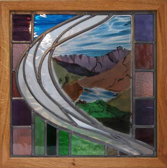 Snowdon framed