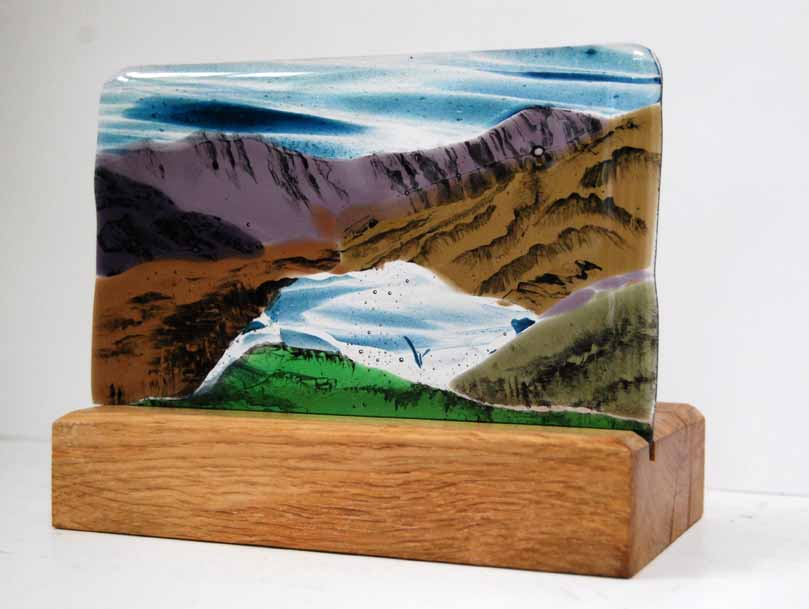 Snowdon, an award for The Exiles Mountaineering Club.