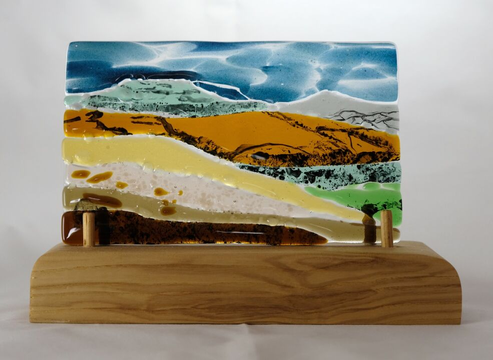 Table Mtn. and Sugar Loaf. 210mm x 150mm £90