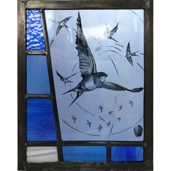 Swallows Swirling 200mm x 250mm £150