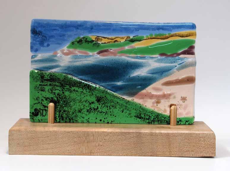 Talland bay postcard
