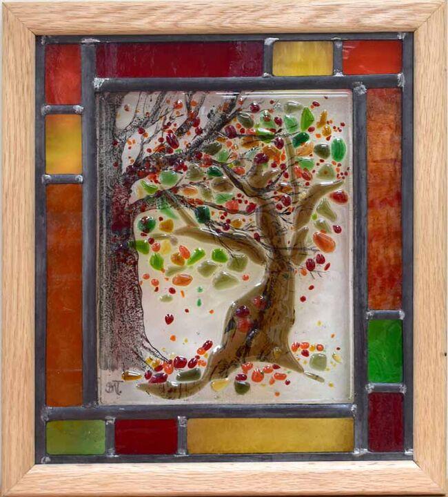 Autumnal Tree. 310mm x 350mm £240