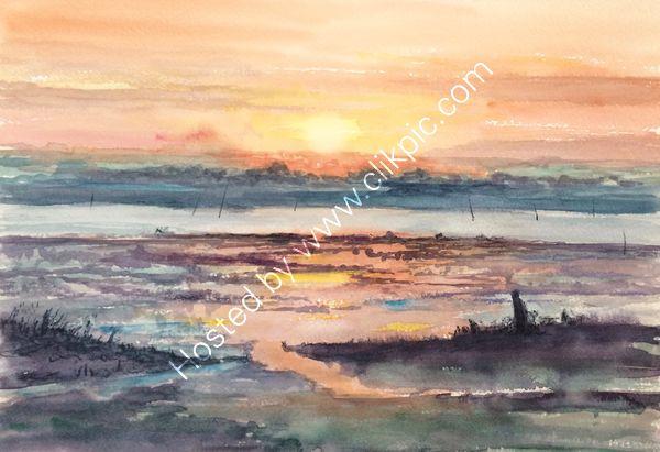 W Mersea sunset