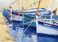 fishing boats St Tropez