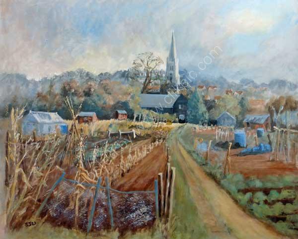 church view saffron walden