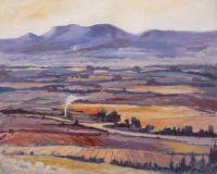 provencal landscape autumn
