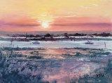sunset W Mersea