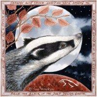 Badger Moonrise