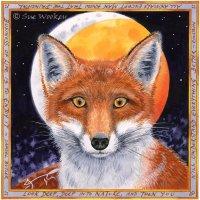 Fox and Lunar Eclipse