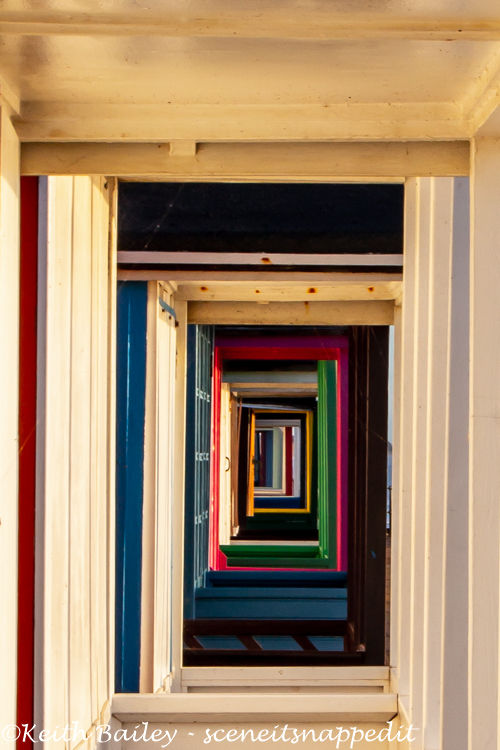 #104 Beach Huts In Perspective