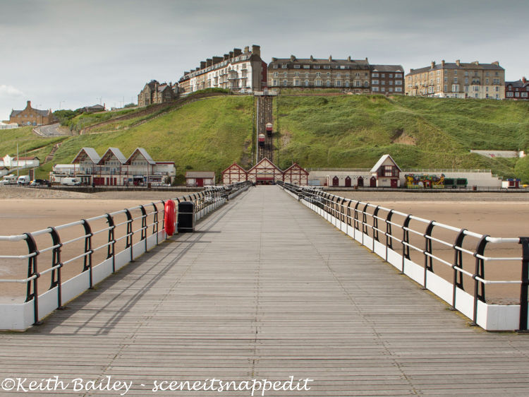 #12 Saltburn By The Sea Pier & Funicular Cliff Tramway