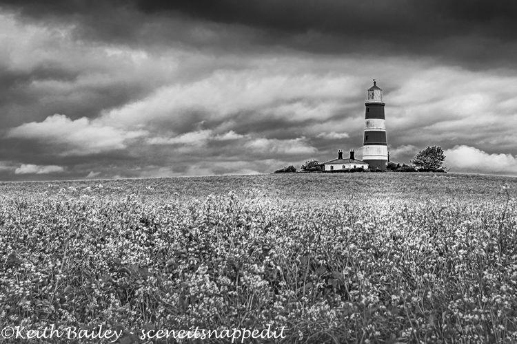 #2 Happisburgh Lighthouse Norfolk - Mono Study