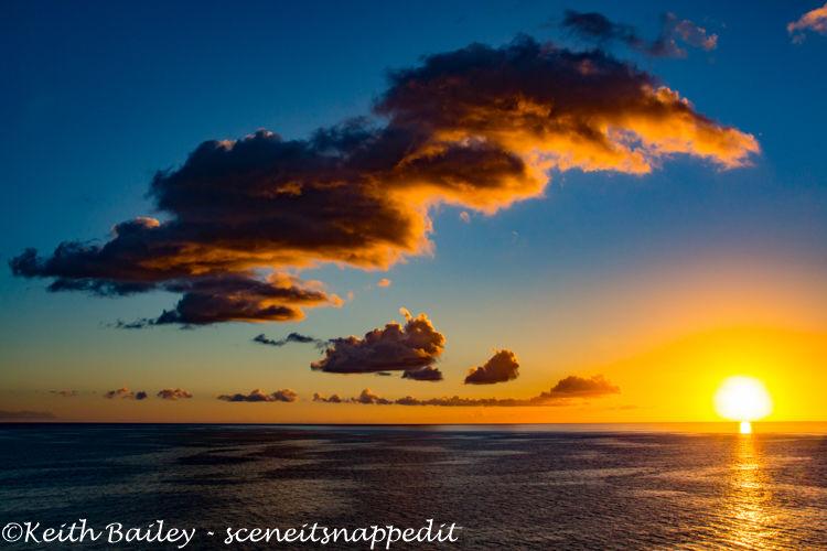 #35 Martinique Sunset